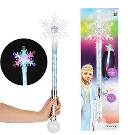 Toi-Toys magische staf sneeuwvlok - 60 cm