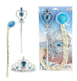 Frozen Elsa 3-delig accessoire set
