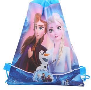 Disney Frozen 2 - schrijfwarenset - 5 delig + gratis Frozen 2 gymtas