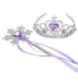 Frozen prinsessen accessoire set - lila