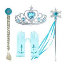Het Betere Merk Elsa Jurk - Prinsessenjurk Meisje - Frozen Jurk + GRATIS Elsa Gymtas  92/98, 98/104, 110, 116/122, 128/134