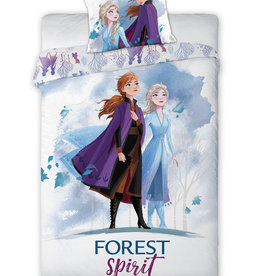 Disney Frozen 2  Dekbedovertrek - Forest Spirit + gratis Frozen rugzak