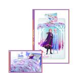 Disney Frozen 2 Disney Dekbedovertrek - Believe in the Journey + gratis handtas - 140 x 200 cm