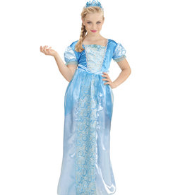 Widmann Prinsessenjurk - Sneeuwprinses + Tiara