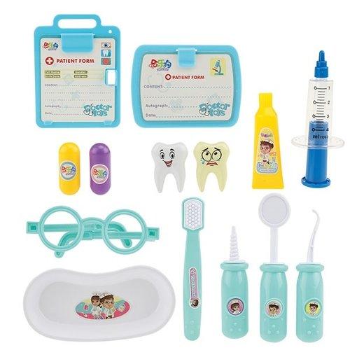 Toi-Toys Tandartsset met spuit+boor + gratis 2 x Disney placemat