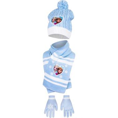 Muts, handschoenen, sjaal