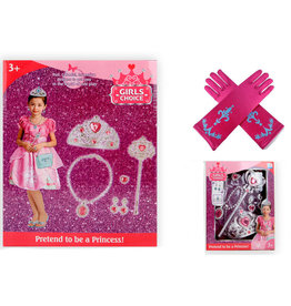 Accessoireset 7-delig + 1 paar handschoenen