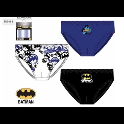 Batman Batman 3 onderbroeken  mt 92/98, 104/110, 116/128
