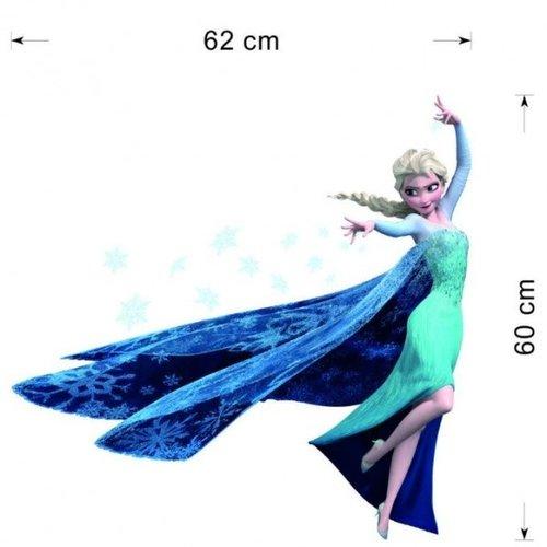 Frozen muursticker Elsa 62 x 60 cm