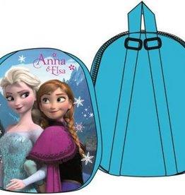 Disney Frozen rugtas - plush - Blauw - 31 x 25 x 4 cm
