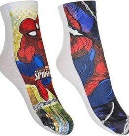 Spiderman 2 paar sokken mt 23/26, 27/30, 31/34