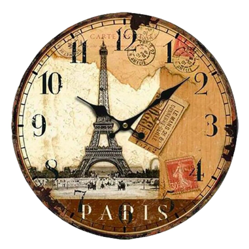 Wandklok Paris - 30 cm