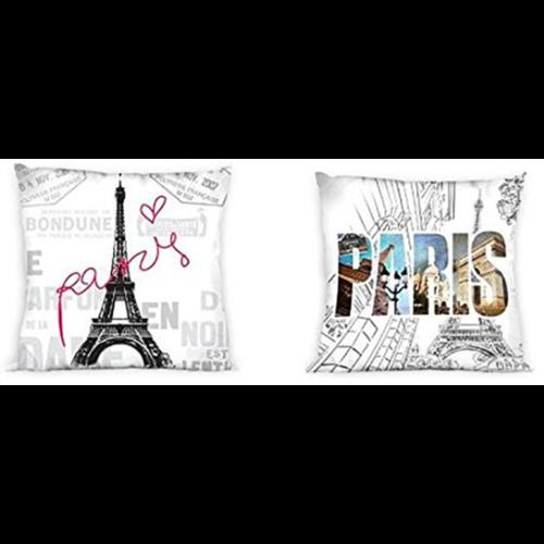 Sierkussen Paris (40x40)