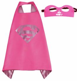 Superwoman 8 x cape + masker