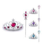 Prinsessen accessoireset  - Toverstaf + kroon