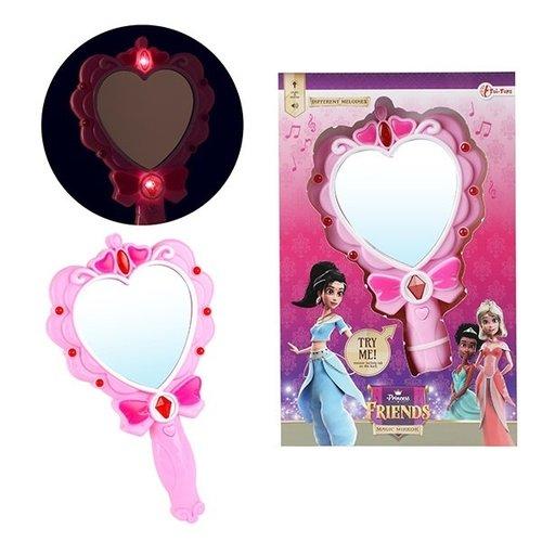 Prinsessen Goud Accessoireset - Toverstaf - Tiara - Goud Elleboog Handschoenen - Kroon - Verkleedaccessoire
