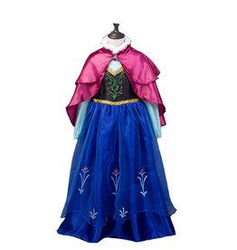 Het Betere Merk Frozen Anna jurk roze cape luxe