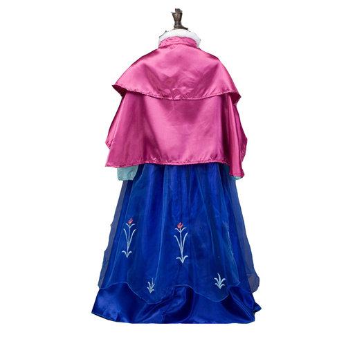 Het Betere Merk Frozen Anna jurk roze cape luxe  98, 104, 110, 116, 122, 128, 134, 140