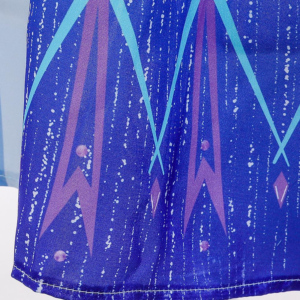 Het Betere Merk Frozen 2  Elsa blauwe prinsessen jurk  + gratis Elsa vlecht 104/110, 110/116, 122/128, 134/140, 146/152