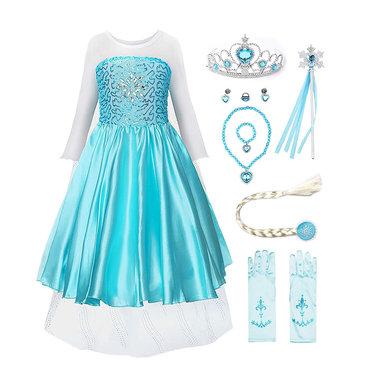 Frozen/prinsessen verkleedjurk