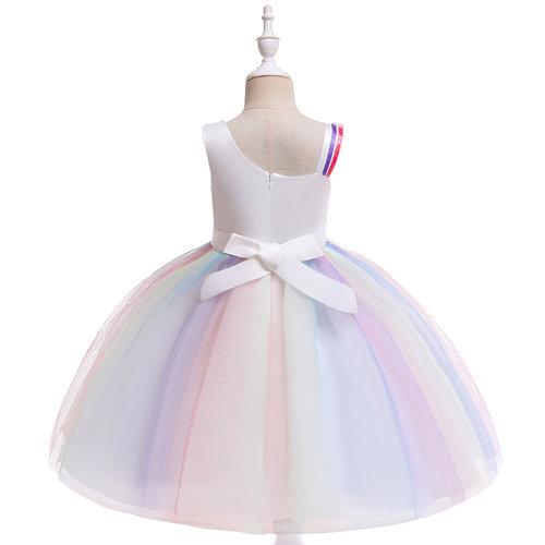 Het Betere Merk Unicorn Jurk - Eenhoorn Jurk - Verkleedkleding Kind - Prinsessen Jurk | Paars maat 98/104, 110, 116/122, 128/134, 140  - Copy
