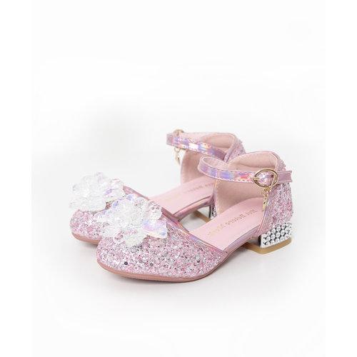 Het Betere Merk Elsa / Anna schoenen - Prinsessen schoenen - Verkleedschoenen | Roze + Toverstaf + Kroon  maat 26, 27, 28, 29, 30, 31, 32, 33, 34, 35 - MAAK UW KEUZE  STAF + KROON