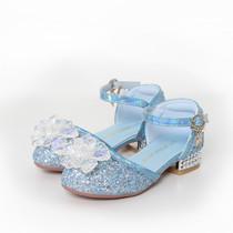Frozen Elsa prinses verkleedjurk - luxe ijsster + Anna jurk 98/104, 110, 116/122, 128/134 , 140,146