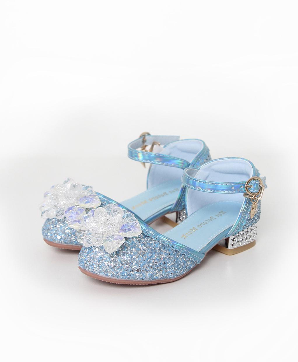 Het Betere Merk Elsa / Anna schoenen - Prinsessen schoenen - Verkleedschoenen   Blauw + Toverstaf + Kroon maat 26, 27, 28, 29, 30, 31, 32, 33, 34, 35 - MAAK UW KEUZE  STAF + KROON