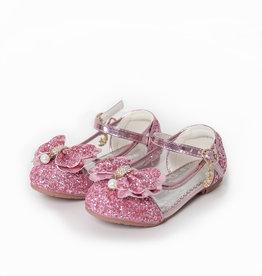 Het Betere Merk Elsa / Anna schoenen - Prinsessen schoenen - Verkleedschoenen | Roze + Toverstaf + Kroon