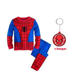 Spiderman verkleedpak  + hanger - verkleedkleding kind