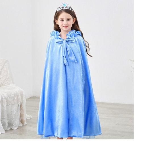 Het Betere Merk Elsa Jurk - Prinsessenjurk Meisje - Frozen Jurk + GRATIS 5-delig Accessoireset - 92/98, 98/104, 110, 116/122, 128/134