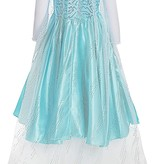 Het Betere Merk Elsa Jurk - Prinsessenjurk Meisje - Frozen Jurk + GRATIS Toverstaf/Kroon 92/98, 98/104, 110, 116/122, 128/134