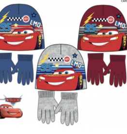 Disney Cars winterset - muts, handschoenen maat 52, 54