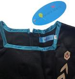 Het Betere Merk Frozen 2 Anna jurk paarse / turquoise cape - GRATIS  Toverstaf, Kroon, Handschoenen, Haarvlecht - Verkleedkleding  maat 104/110, 116/122, 122/128, 134/140, 146/152,