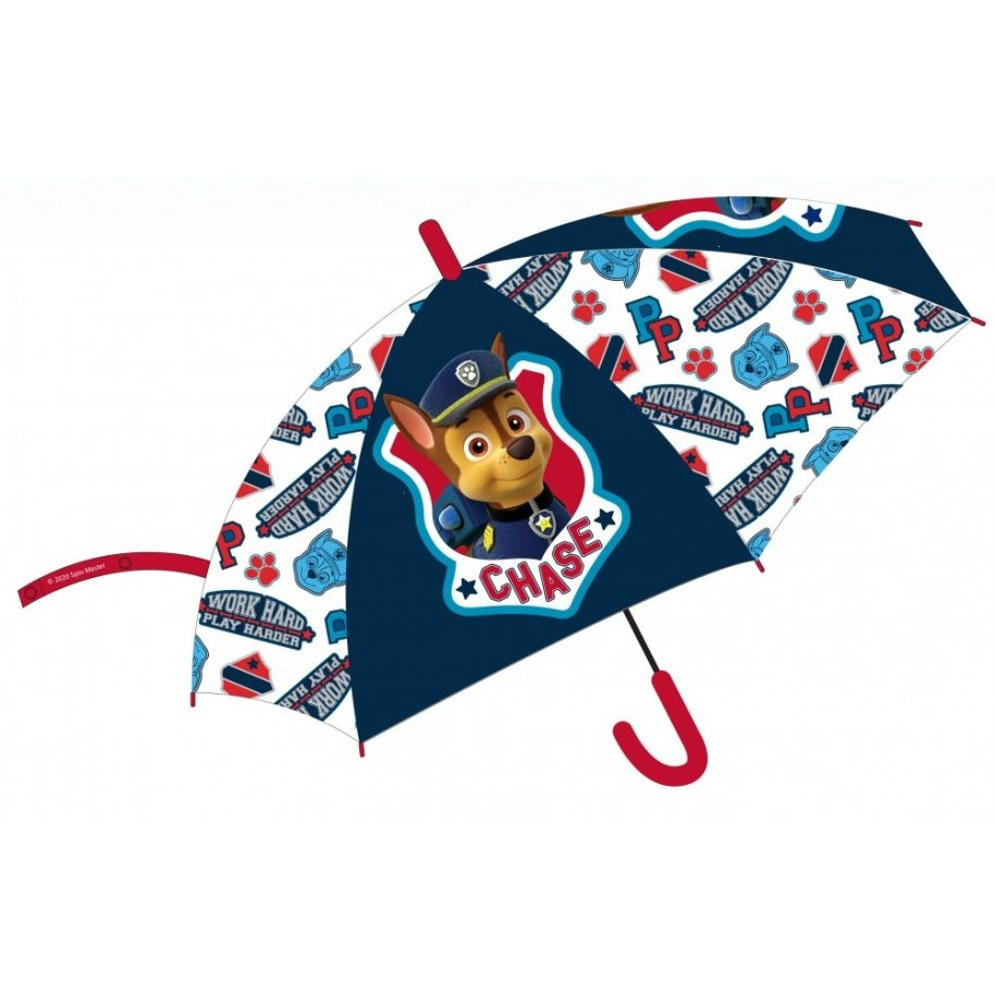 Paw Patrol Patrol Paraplu - 68 cm + Gratis Muursticker