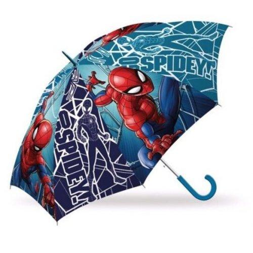 spiderman Spiderman Paraplu - 65 cm - Gratis 5-delig Schoolset