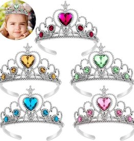 Prinsessen Tiara / Kroon - 5-Pack