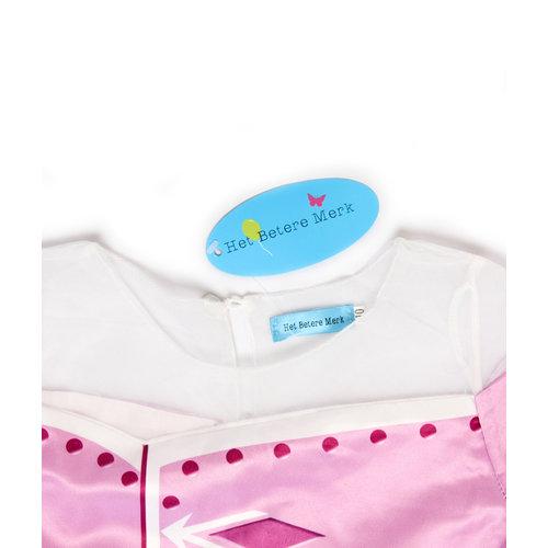 Het Betere Merk Frozen 2 Elsa roze / paarse verkleedjurk maat 104/110, 110/116, 122/128, 134/140, 140/146