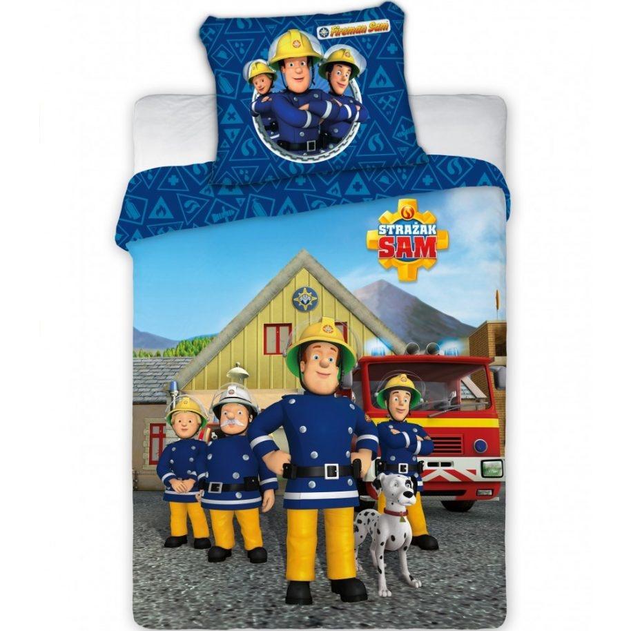 Brandweerman Sam Brandweerman Sam  Ledikant dekbedovertrek 100x135 cm