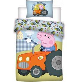 Peppa Pig Peppa Pig Ledikant dekbedovertrek 100x135 cm