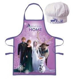 Disney Frozen 2 Keukenset - Kookset - Schort / Muts  - Gratis Frozen bekers