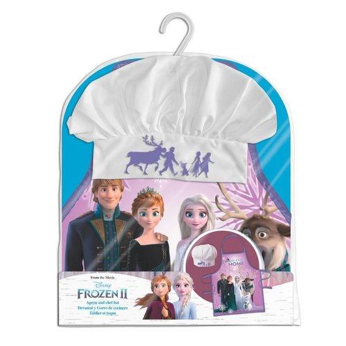 Disney Frozen Keukenset - Kookset - Schort / Muts  - Gratis Frozen bekers