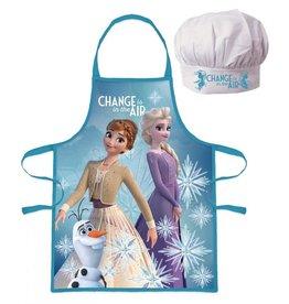 Disney Frozen 2 Keukenset - Kookset - Schort / Muts  - Gratis 5-delig Schoolset