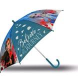 Disney Frozen Paraplu - 65 cm - Gratis 5-delig Schoolset