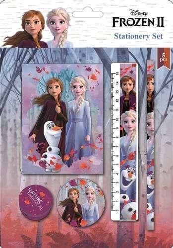Frozen Frozen Ledikant dekbedovertrek 90 x 145 cm + gratis Frozen schrijfset