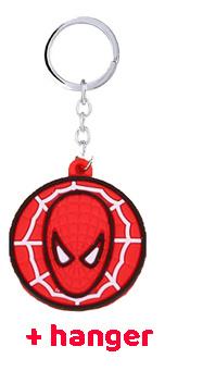 spiderman Spiderman Rode / Blauwe Sloffen + Hanger
