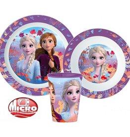Frozen Frozen Diner Set - Beker - Bord - Kom