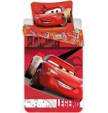 Cars Cars  Dekbedovertrek 140 x 200 cm + Cars Gymtas