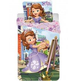 Disney Sofia Ledikant dekbedovertrek 90 x 140 cm + gratis Frozen schrijfset