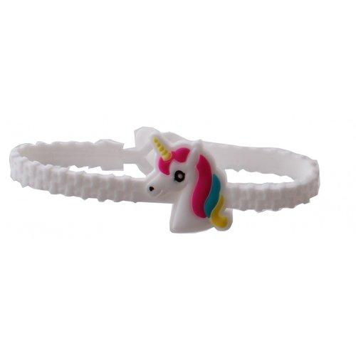 Unicorn Roze Shirt 3-4-5-6-7-8 jaar - maat 98, 104, 110, 116, 122, 128 +  gratis Unicorn Armband